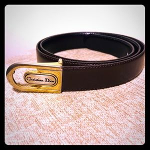Christian Dior Reversible Belt